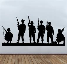 wall decals military color the walls of your house
