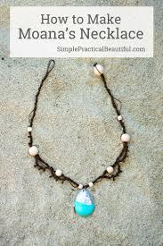 moana u0027s necklace tutorials gift and craft