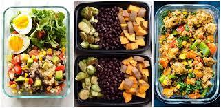 20 easy and healthy meal prep recipes u2013 rainbeau curves plus
