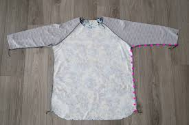 shirt pattern cutting pdf free raglan tee shirt sewing pattern women s size large it s
