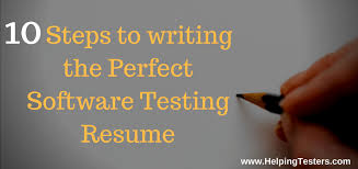 points to write perfect and most recruitable qa resume