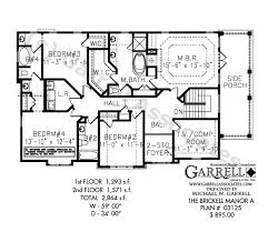 traditional house floor plans brickell manor a house plan craftsman house plans