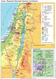 Israel Map 1948 Karten Bpb