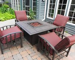 Firepit Patio Table Patio Pit Sets Home Design Ideas And Pictures