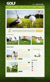 golf joomla templates