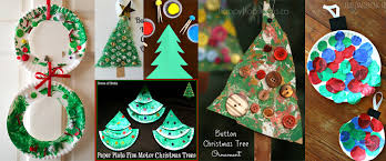 Christmas Decoration For Kindergarten by 20 Easy Christmas Crafts For Toddlers Totschooling Toddler