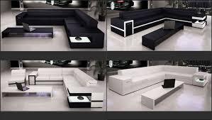 canapé angle design grand canapé d angle design cuir