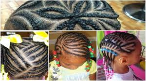Beautiful Black Little Hairstyles With Braids 2017 Youtube