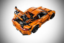 lego rolls royce a lego technic porsche 911 gt3 rs was crash tested by adac autobics