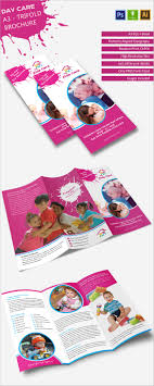 daycare brochure template free phlet templates microsoft word sle resignation letter