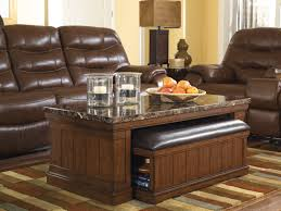 Ashley End Tables And Coffee Table Marble Stone Top Coffee And End Tables