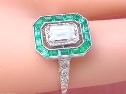 the treasure hunt for exquisite emerald and diamond estate rings