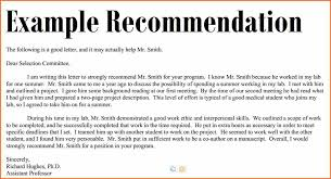 recommendation example exol gbabogados co