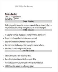 resume format for mba hr fresher pdf to excel 43 professional fresher resumes