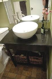 Bathroom Vanities For Less by 25 Best Open Bathroom Vanity Ideas On Pinterest Farmhouse