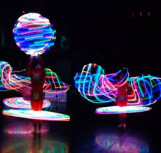 glow show and glow performers for corporate events and prima