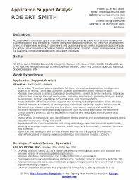 System Support Analyst Resume Emr Analyst Resume Eliolera Com