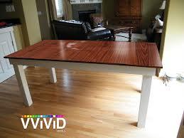 Super Gloss Laminate Flooring Amazon Com Vvivid High Gloss Red Cedar Striped Wood Grain Faux