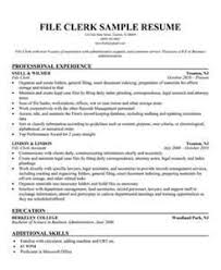 File Clerk Job Description Resume by File Clerk Resume Responsibilities Clerk Resume Resume Cv Cover
