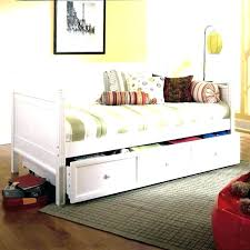 White Daybed With Storage Daybed With Storage Underneath Daybeds Metal Daybed White