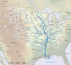 Colorado River On A Map by List Of Longest Rivers Of The United States By Main Stem Wikipedia