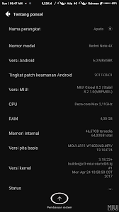 how to upgrade android version how to upgrade android version redmi note 4x xiaomi miui