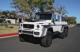 driving the insane brabus g63 700 6x6