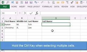 how to concatenate a range of cells in excel vba macro