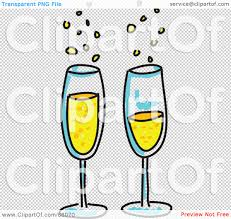 champagne glasses clipart royalty free rf clipart illustration of two bubbly glasses of