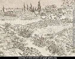 vincent van gogh the complete works garden with flowers 3