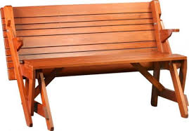 Plans To Build A Picnic Table And Benches by Two In One Convertible Bench And Picnic Table Home Design