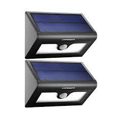 solar powered dusk to dawn light lights solar dusk to dawn amazon com