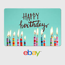 ebay digital gift card birthday designs email delivery ebay
