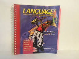 language the comprehensive literacy curriculum teacher edition