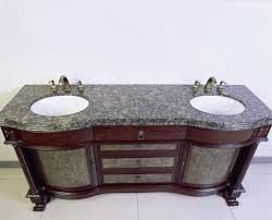 Legion Bathroom Vanity by Legion Lf64c Dark Cherry Antique Double Sink Vanity With A Baltic