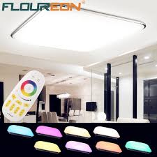 led panel k che 36w rgb led ceiling light remote living room ceiling