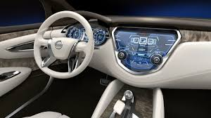 nissan versa note interior nissan resonance previews at detroit the next murano the road pro