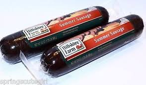 hillshire farms summer sausage 2 hillshire farm summer sausage fully cooked 1 25 lb ebay