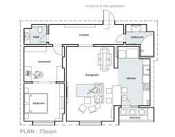plan cuisine plan de cuisine ouverte sur salle a manger 12 am233nagement
