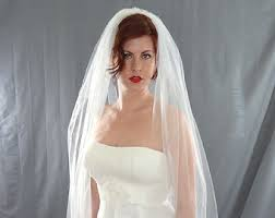 bridal veil wedding veils etsy