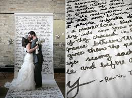 wedding backdrop quotes how to use quotes in your wedding theme pearls and lace