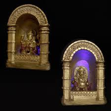 led decorative gold and ganesh ornament