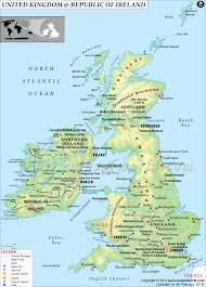 England On A World Map by Map Of France England And Ireland Travel
