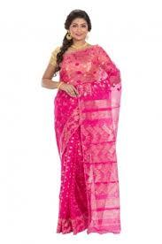 dhakai jamdani only buy online muslin dhakai jamdani muslin saree
