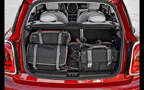 nissan micra luggage capacity f56 rear boot space mini f55 u0026 f56 interior pinterest