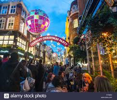 Christmas Decorations Online London by Christmas Decorations London Carnaby Street Christmas London 2016