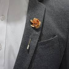 mens boutineer discount 2016 high quality handmade flower boutonniere stick