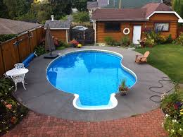 Deep Backyard Pool by Vantage Pools U0026 Spas