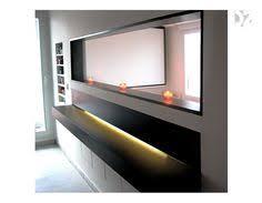 passe plat cuisine salon passe plat à galandage vertical encastré dans une cloison bar