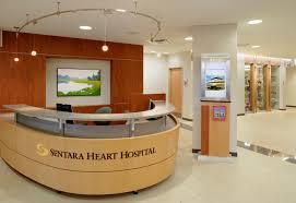 Hospital Reception Desk Fmg Design Inc Sentara Heart Hospital U2013 Norfolk Virginia